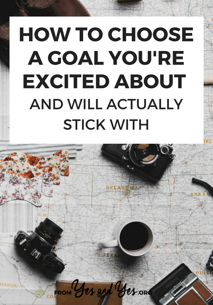 Not sure how to choose a goal to pursue? Struggling to achieve your goals? Click through for goal-setting tips that are different from anything else you've ever heard!