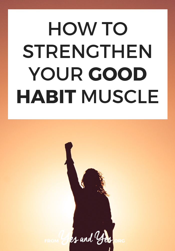 Want to strengthen good habits? Or break bad habits? Click through for some unique habit building tips and goal-setting advice you've probably never heard before!