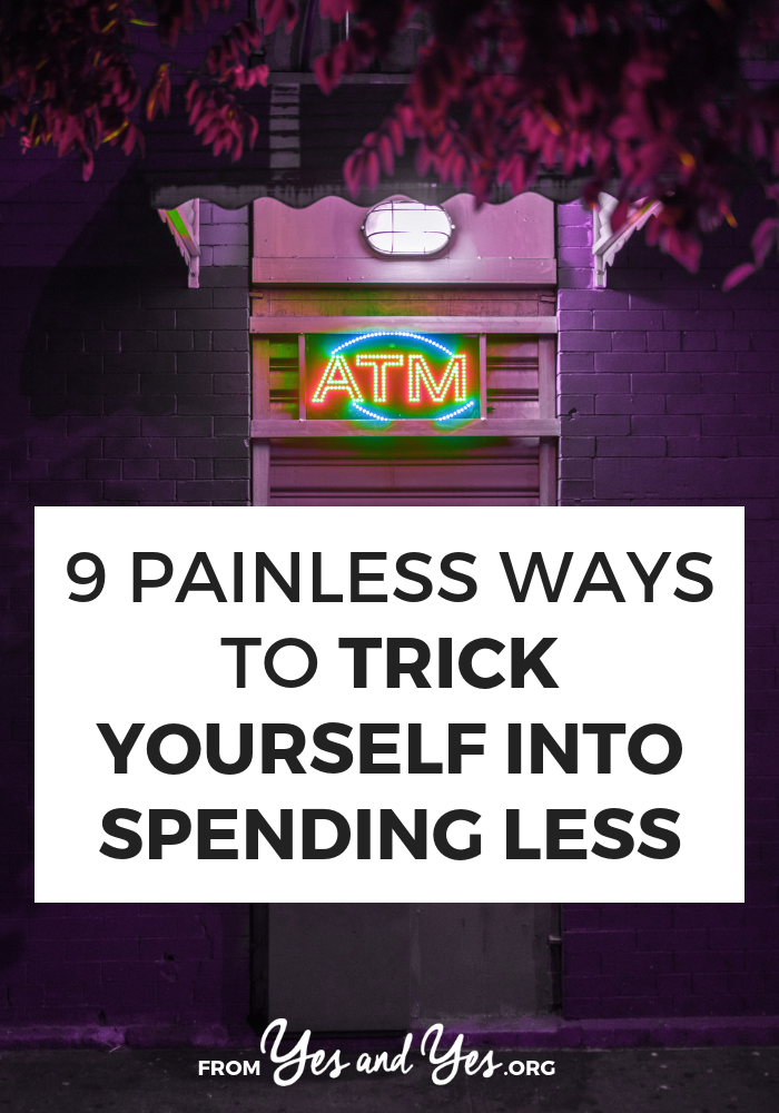 Want some tricks to spending less? Looking for budget tips that don't suck the joy from your life or easy money advice. Click through for tricks to spending less in a way that doesn't suck!