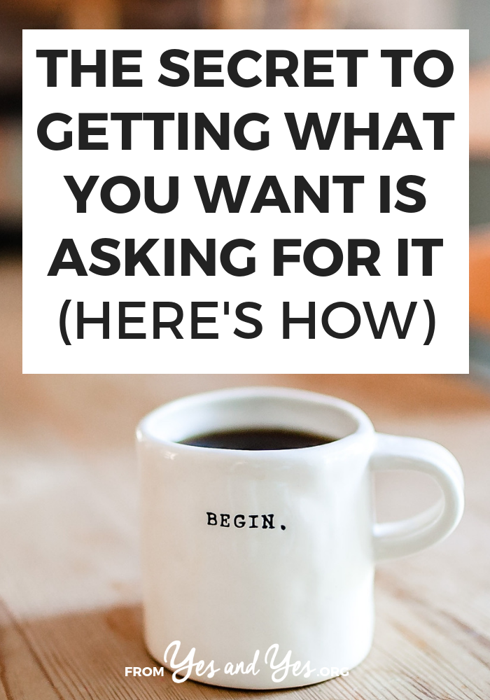 Not sure how to ask for what you want? Looking for goal-setting advice or tips for chasing your dreams? Click through for self-development tips you won't read elsewhere!