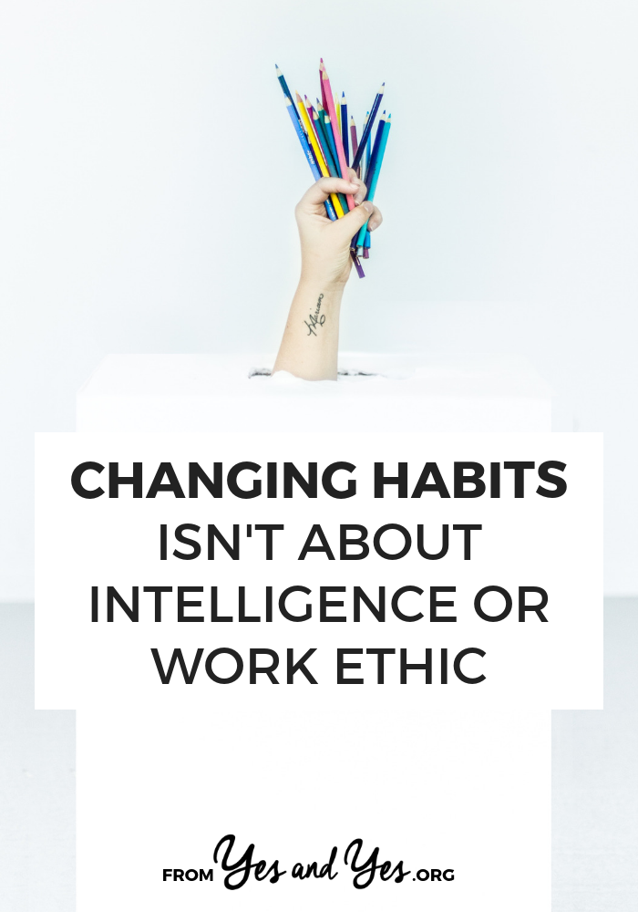 Trying to break a bad habit or build a good habit? Click through to read 4 myths about habit change and improve your goal-setting or increase your motivation!